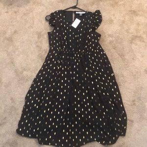 Black/ Gold Maternity Dress. Pea in Pod. Brand New